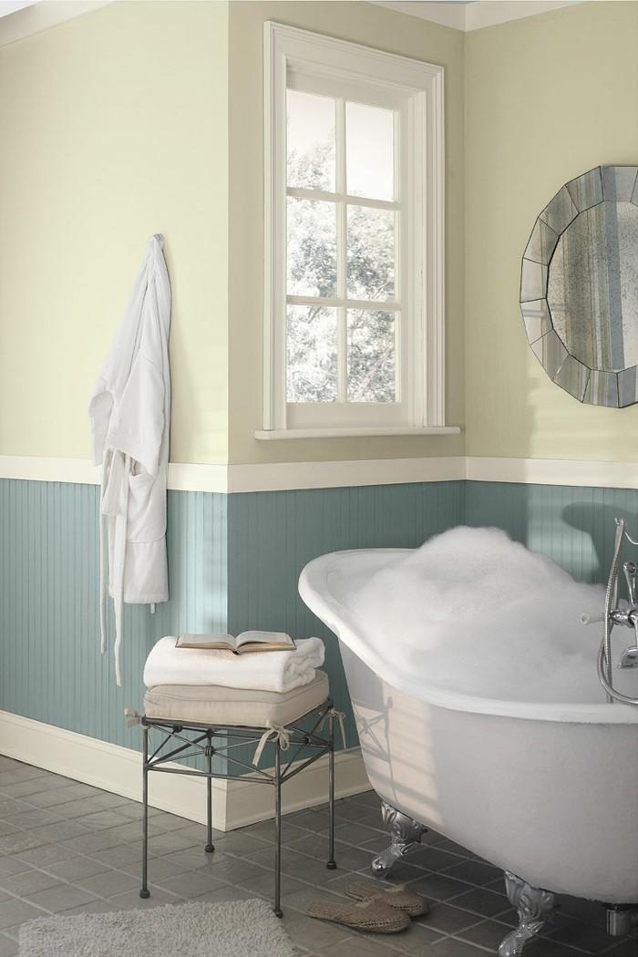 einrichtungsideen im badezimmer farbgestaltung