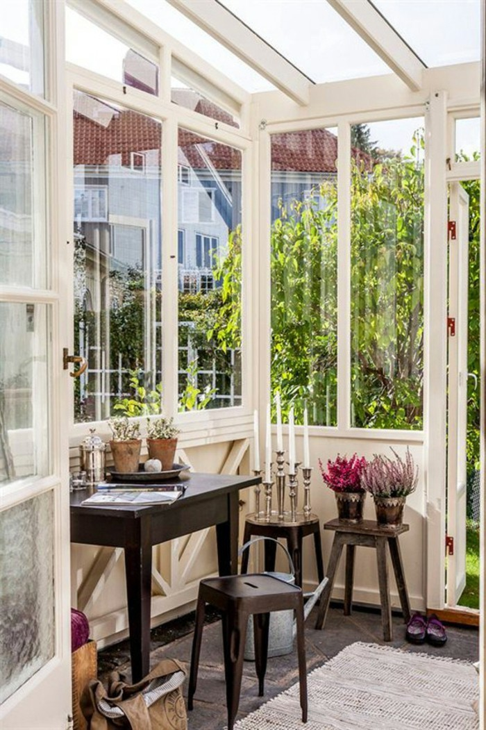 einrichtungsideen kleines patio gemütlich gestalten