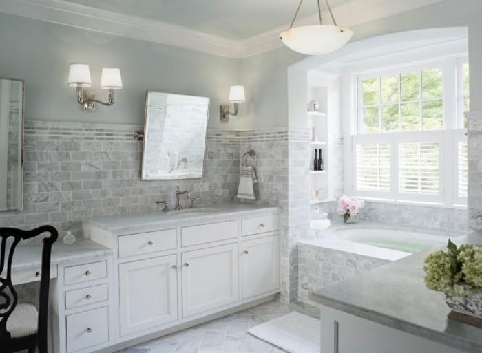 farben für das moderne badezimmer hellgrau