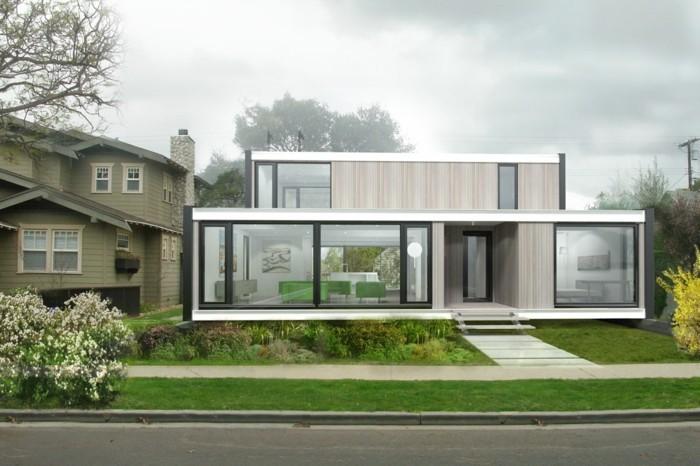 Fantastisch Fertghaus Design Moderne Architektur Mit Ausgefallener Hausfassade  Fertighaus U2013 Modern, Energieeffizient Und Zukunftsorientiert Wohnen ...