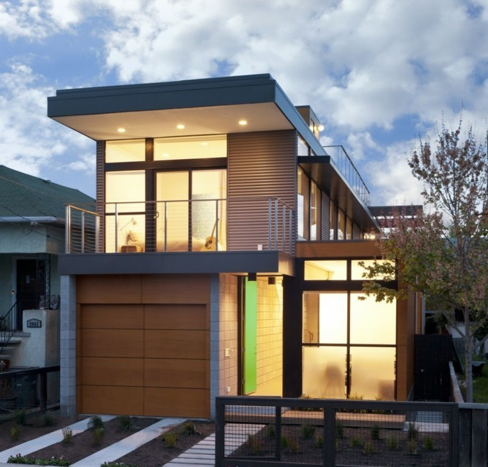 Fertighaus modern energieeffizient und for Fertighaus modern