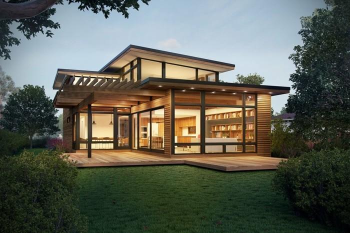 Fertighaus moderne architektur  Fertighaus - modern, energieeffizient und zukunftsorientiert wohnen