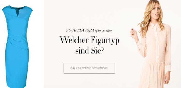 four flavor fiturtyp fünf schritte