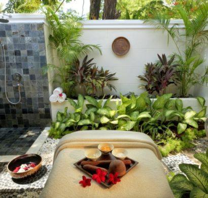 Gartendusche – die erwünschte Abkühlung an heißen Sommertagen