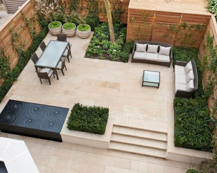 120 moderne Gartenideen und Einrichtungen für den vollkommenen ...