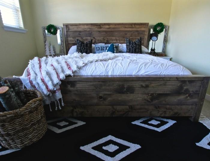 Modernes Schlafzimmer gestalten: 107 Ideen mit rustikalem Flair