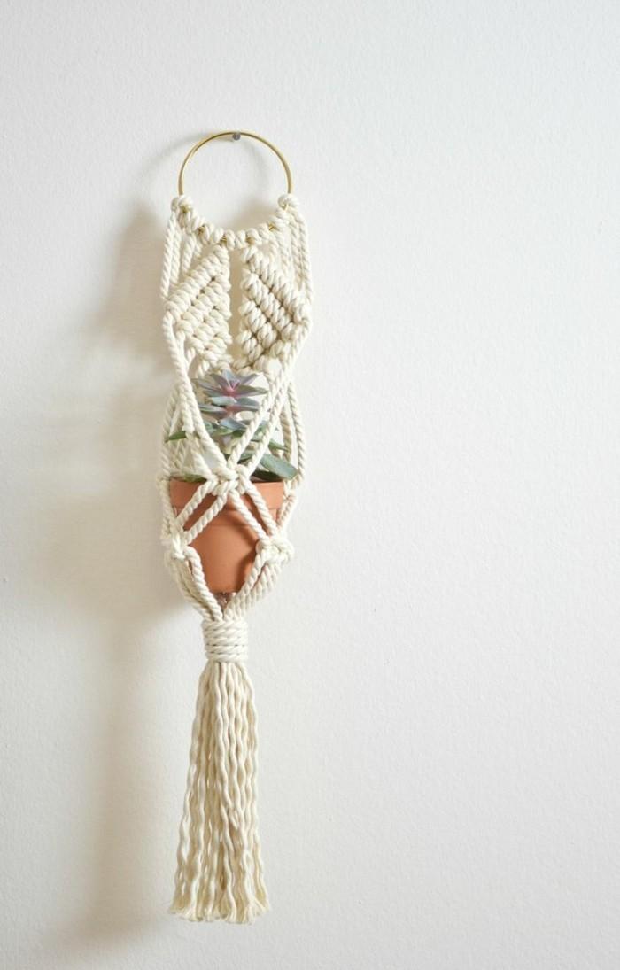 hängeampel selber machen für die innendeko
