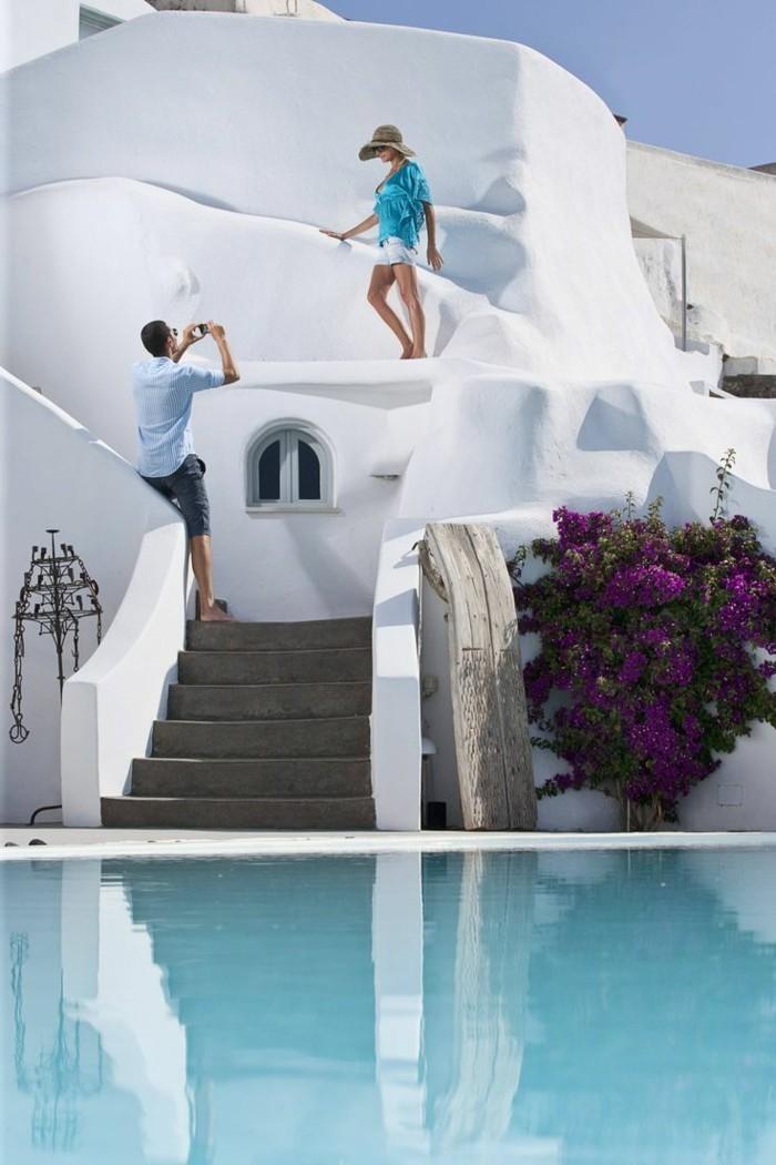 infinity pool in griechenland santorini und seine luxuriösen hotels