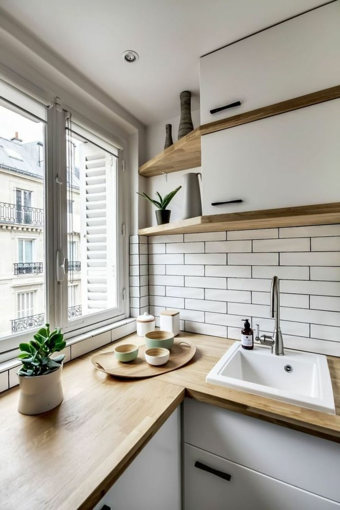 küche l-form klevere lösungen für die eckelemente