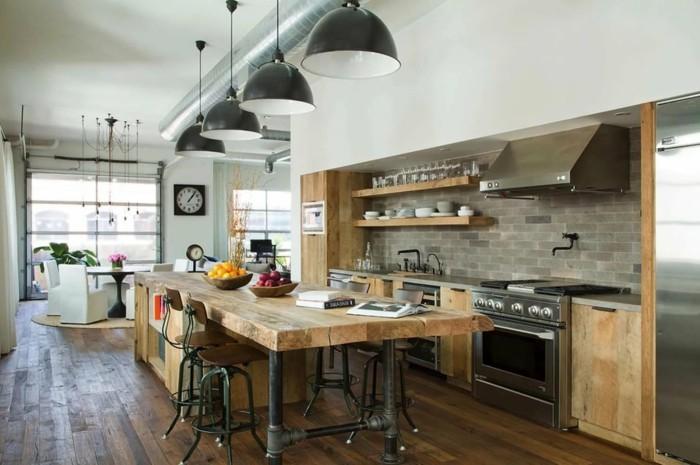 küchenfarben die eine industrielle küche ausmachen