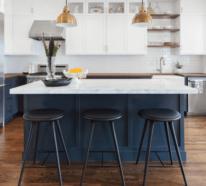 Küchenfarben richtig auswählen – 60 Küchendesigns in verschiedenen Farbtönen