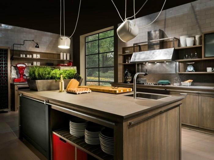 küchenfarben tolle farbkombinationen in der industriellen küche