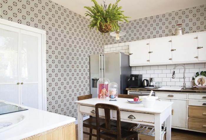 küchentapete ideen für die küchenwände