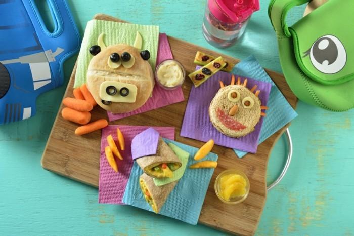 kindergeburtstag ideen für fingerfood sandwich