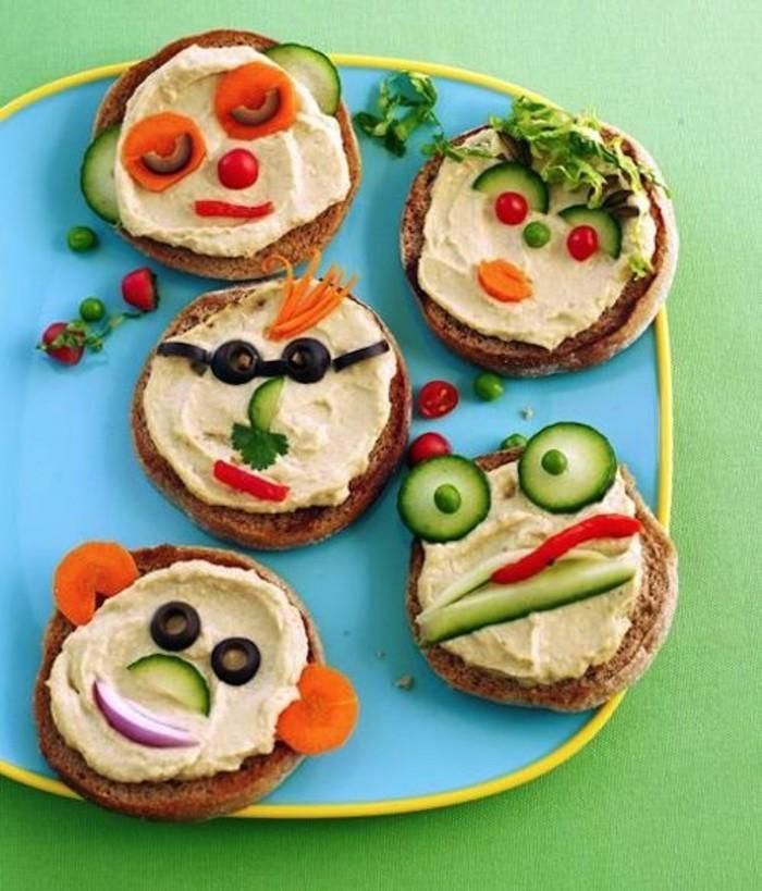 kleine sandwisch fingerfood ideen für kindergeburtstag