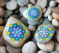 Steine bemalen: 101 Ideen für eine wunderschöne DIY Dekoration