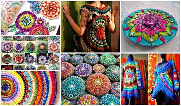 mandala-steine-bemalen-ideen-bunte-farben