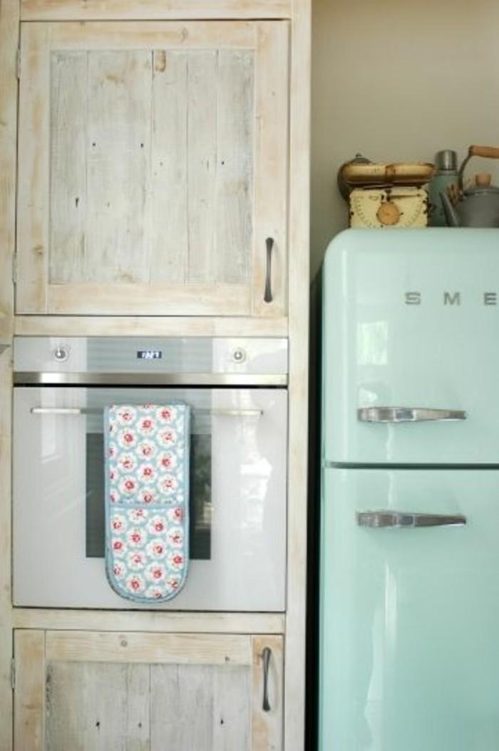 mintgrün retro kühlschrank