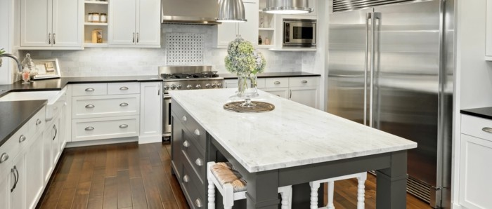Moderne Küchen Schöne Gemütliche Küche Gestalten Küchenfarben Richtig  Auswählen U2013 60 Küchendesigns In Verschiedenen Farbtönen ...