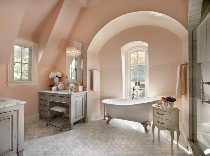 rosa und weiß