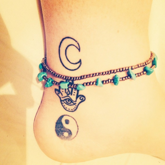 Tattoo Ankle - 65 tattoos that hint at you and make a beautiful presence