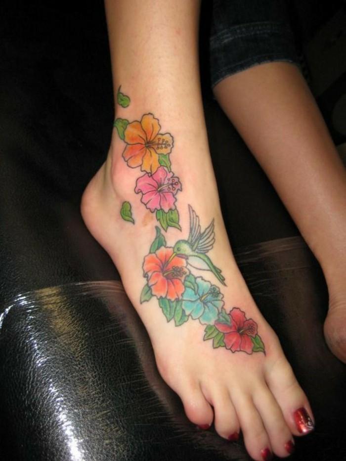 schöne tattoos florale muster für frauen