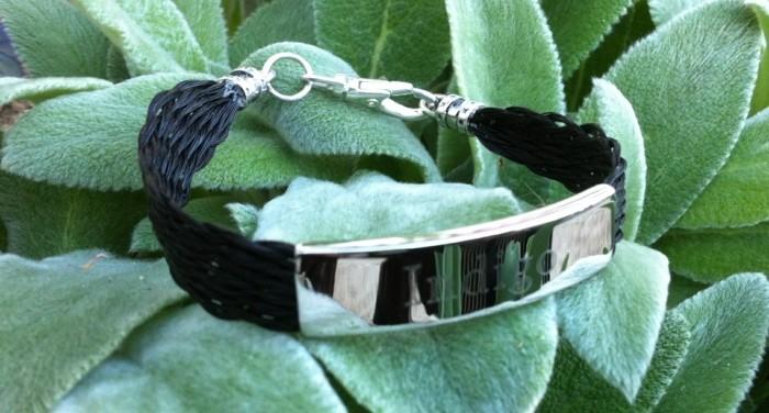 schmuck aus pferdehaar ohrringe luxus armband