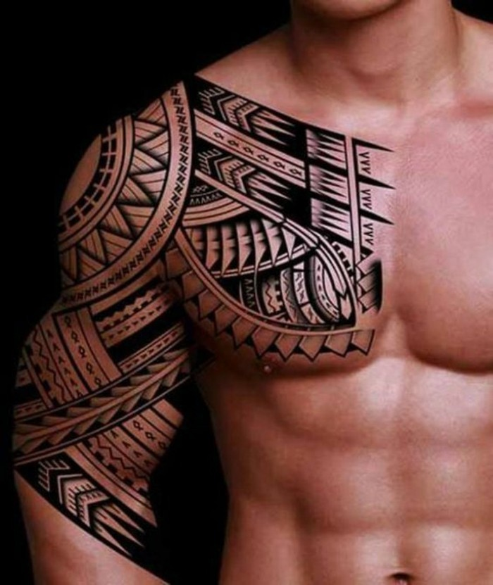 49 maori tattoo ideen die wichtigsten symbole und ihre bedeutung. Black Bedroom Furniture Sets. Home Design Ideas