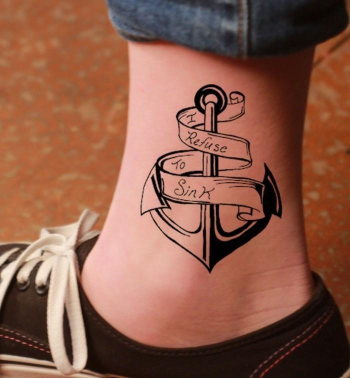 tattoo knöchel mit symbolik
