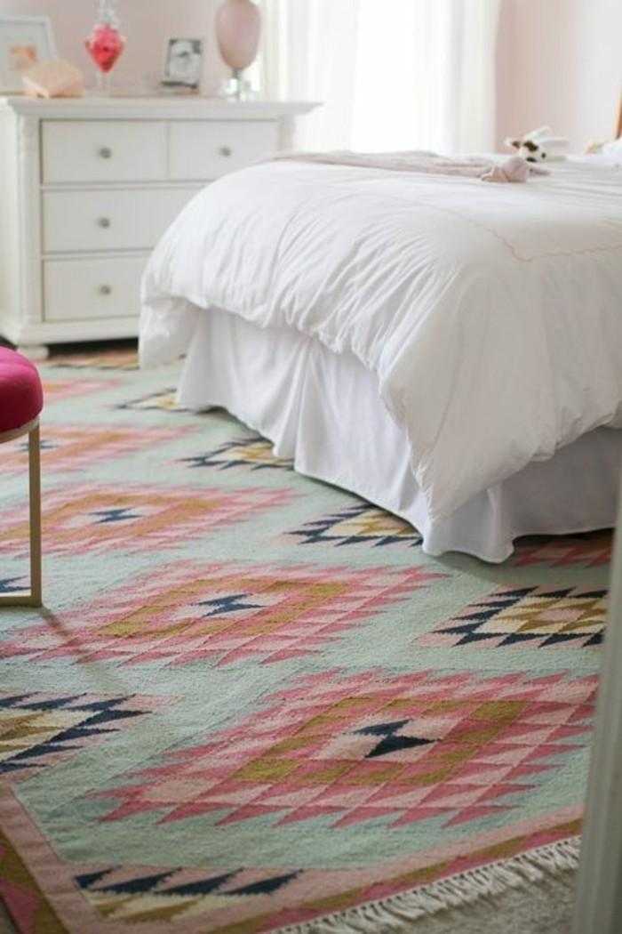 teppich in mint