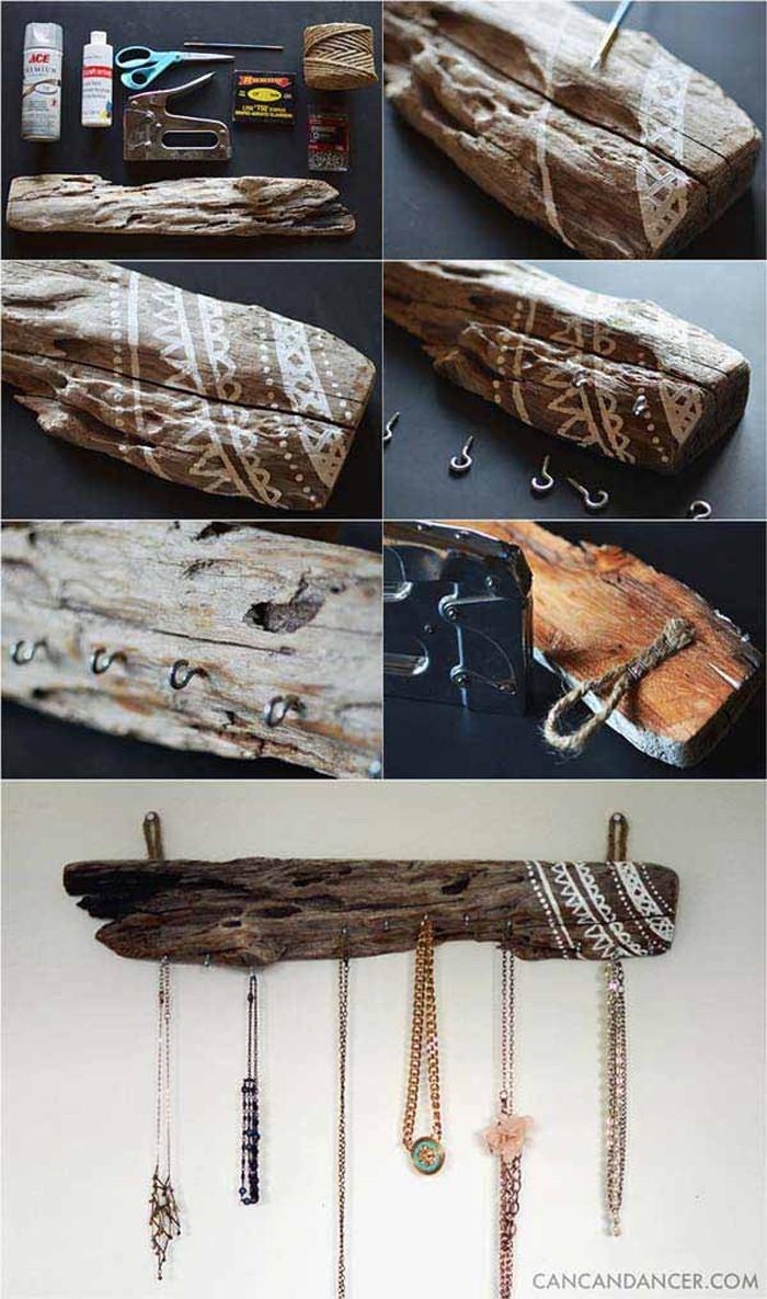 treibholz deko basteln mit naturmaterialien 3