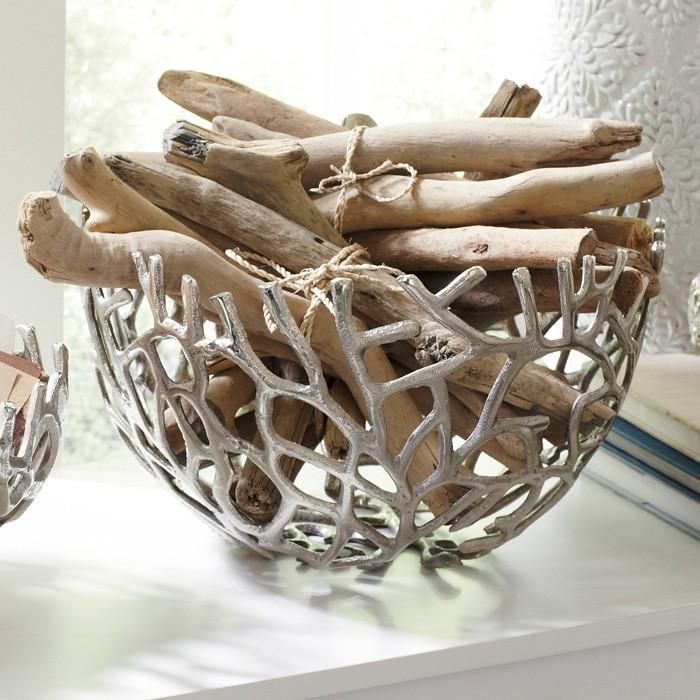 treibholz deko basteln mit naturmaterialien 8 basteln mit wäscheklammern korale