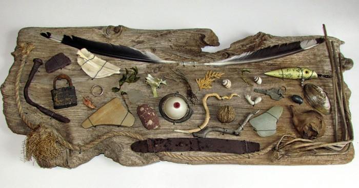 Treibholz Bastelideen basteln mit naturmaterialien 30 ideen für dekorieren mit treibholz