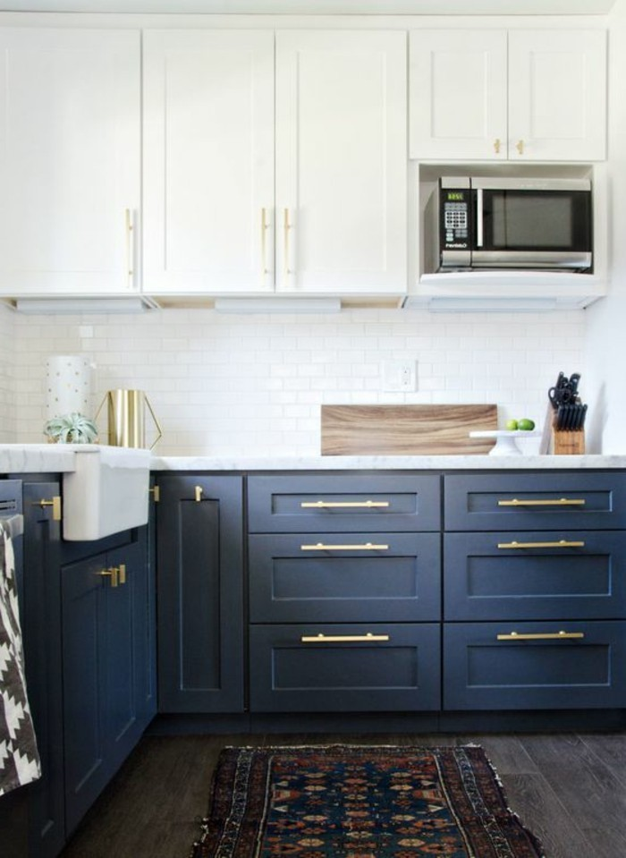 trend farben küchen einrichtungstipps navy blue