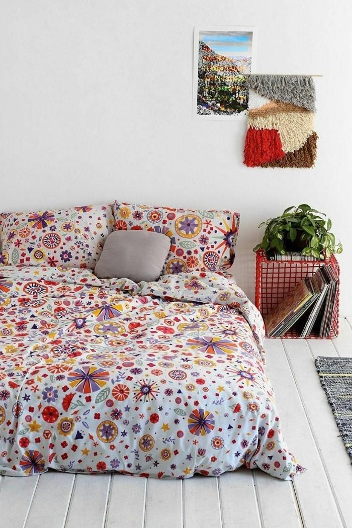 trends für den kommenden herbst schöne ideen für das schlafzimmer farbige bettwäsche