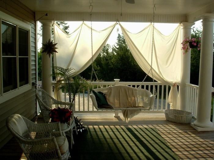 die veranda als erholungsecke gestalten und die freizeit. Black Bedroom Furniture Sets. Home Design Ideas