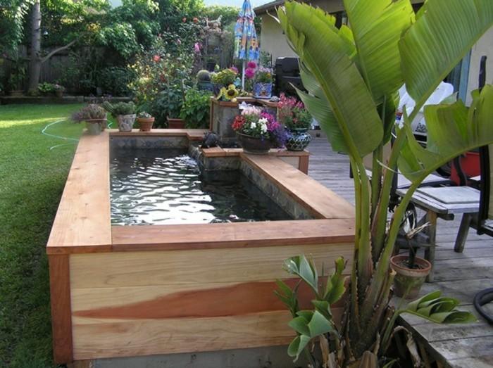 wasserstelle pflanzen zonierung