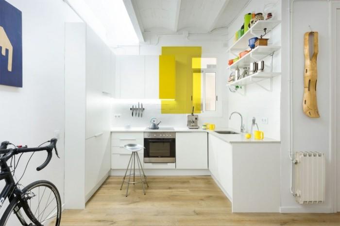 weiß und gelb tolles design