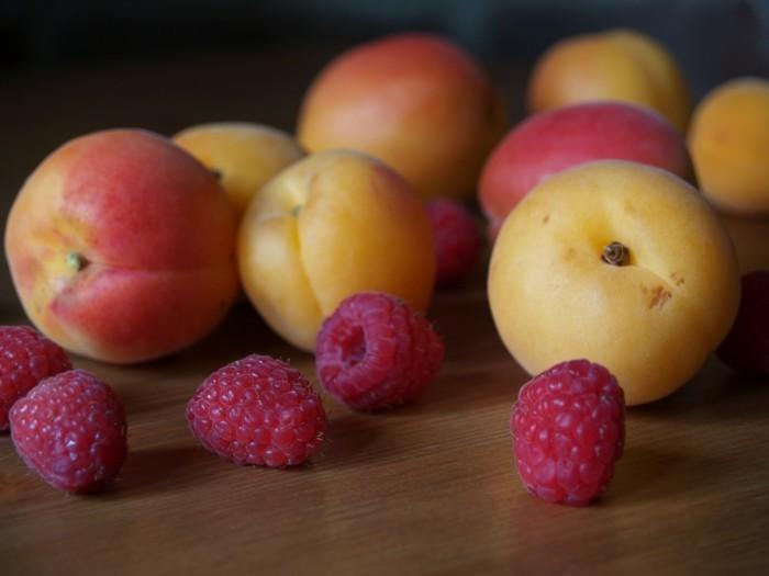 weihnachstmarmelade kochen heilkräuter aprikose himbeere