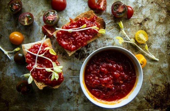 weihnachstmarmelade kochen heilkräuter ingwer tomate