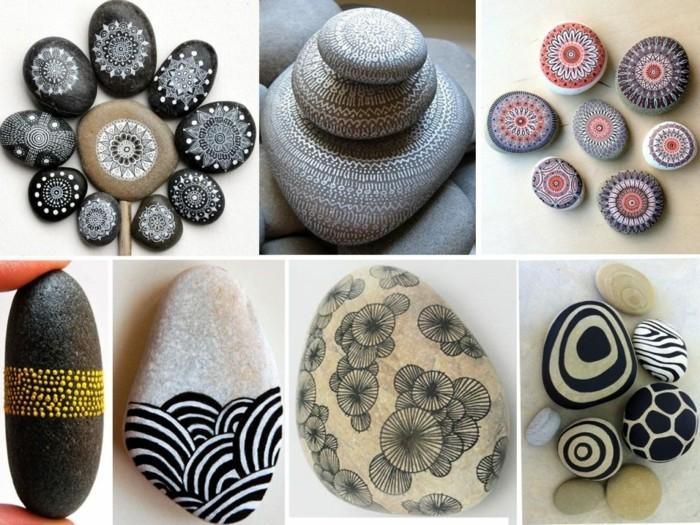 wunderschöne mandala motive steine bemalen
