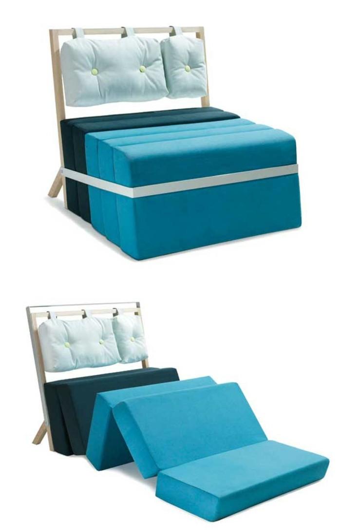 Bett und Sofa Multifunktionsmöbel