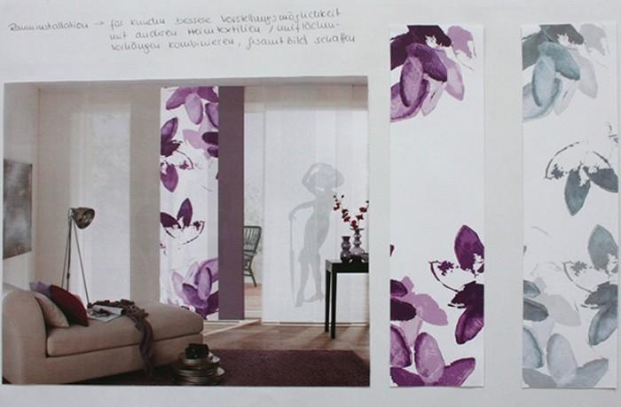 Textildesign elegante motive für das wohnzimmer