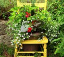 Kunstvolle Gartendekoration anstatt aufwendiger Renovierung: 7 einfache Ideen