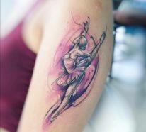 Das Aquarell Tattoo – schönste Motive und wichtige Tipps