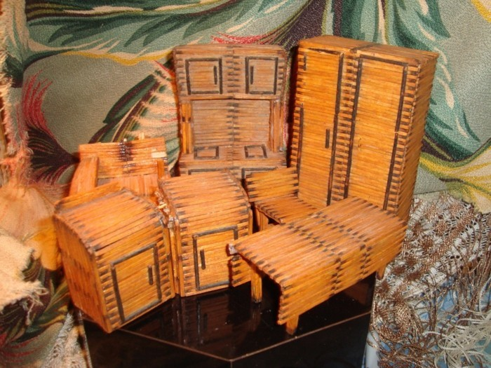 bastelideen diz deko strichholz streichholzstern szenarium