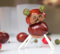 Basteln mit Kastanien – Inspirierende DIY Ideen mit Herbststimmung