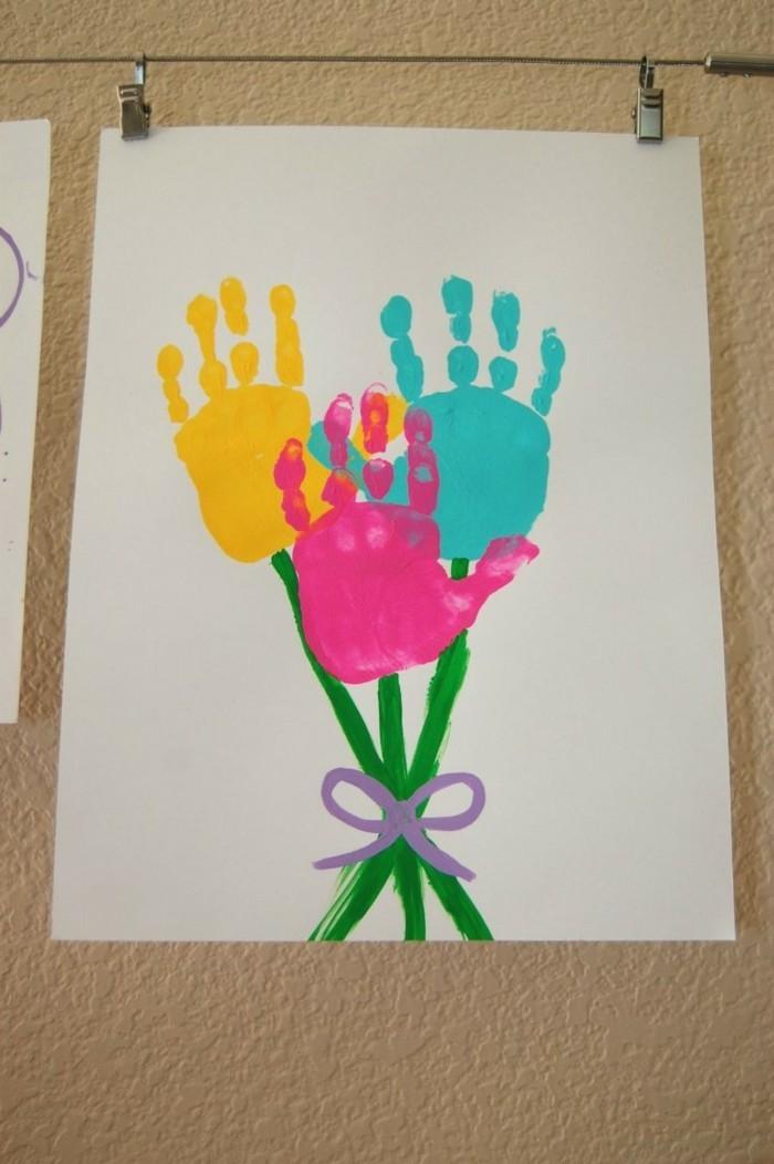 basteln mit kindern kreative ideen für kleinkinder