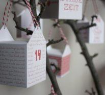 21 Bastelvorlagen für Weihnachten- sich festlich zu stimmen, kann nicht früh genug beginnen