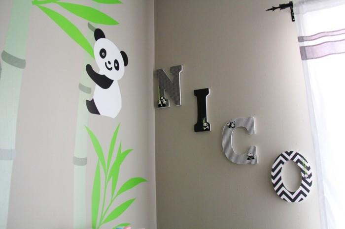 wohnung dekorieren wanddeko im kinderzimmer die den raum charakter verleiht